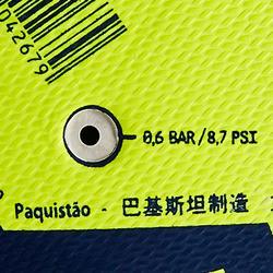 Fußball F100 Hybrid Light Größe 5 gelb