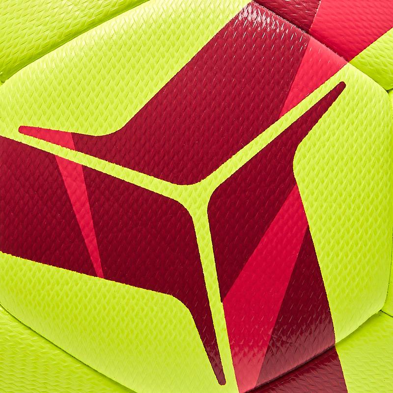 Hybrid Size 4 Football F100 Light - Yellow