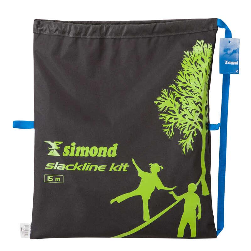 SLACKLINE Slacklines - SLACKLINE 15 METRES GREEN SIMOND - Sports