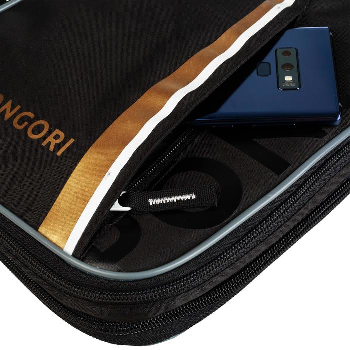 Schlägerhülle TTC900 Tischtennis schwarz/gold