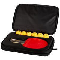 TTC 900 Table Tennis Bat Cover - Black/Gold