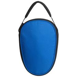 HOUSSE DE RAQUETTE DE TENNIS DE TABLE TTC 160 BLEUE