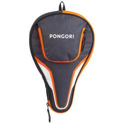 Capa para Raquete de Ping Pong TTC 130 Cinza-Laranja