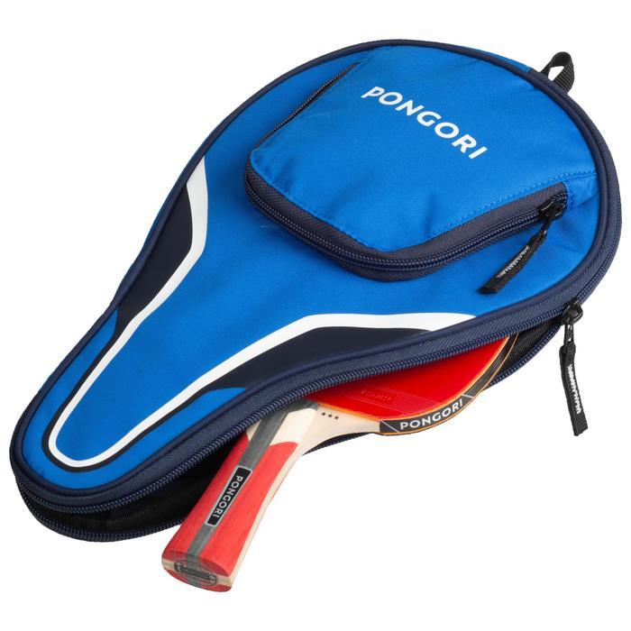 TTC 130 Table Tennis Bat Cover - Blue