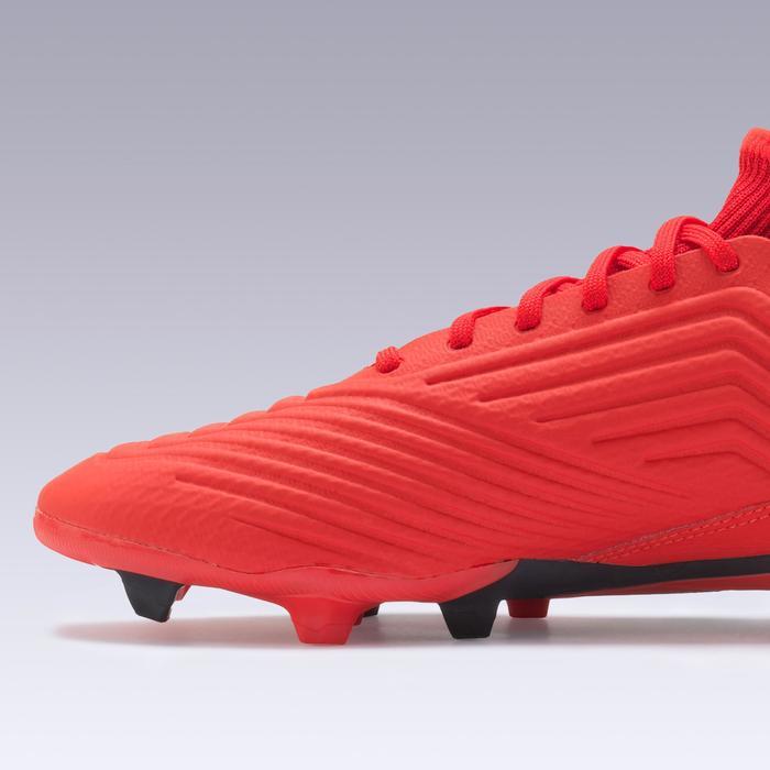 Botas de Fútbol adulto Adidas Predator 19.3 FG rojo