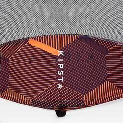 Portería de Fútbol Kipsta autodesplegable NG100S naranja
