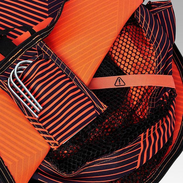 Fußballtor NG100S selbstentfaltend orange