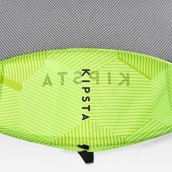 Portería de Fútbol Kipsta autodesplegable NG100S amarillo
