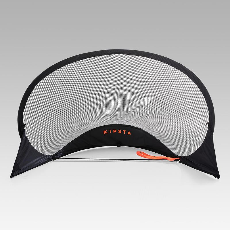 Arco de fútbol autodesplegable NG100S negro