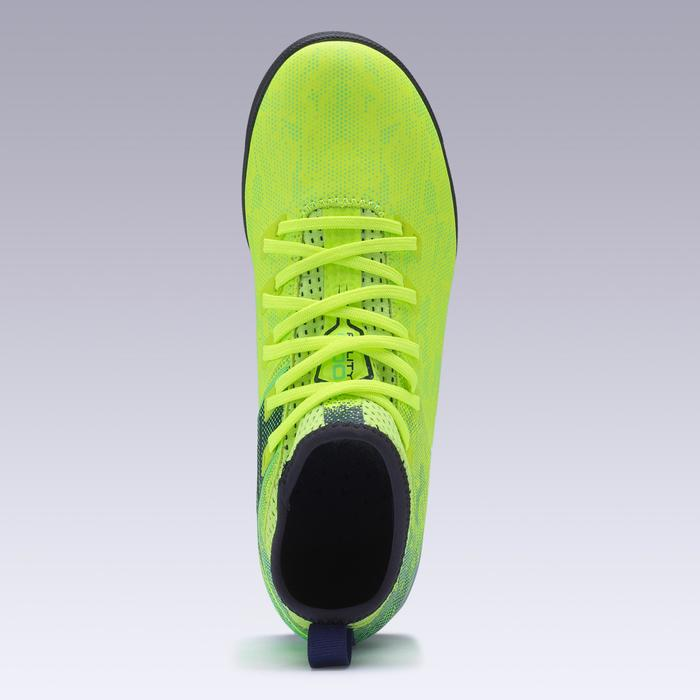 Voetbalschoenen Agility 900 HG voor hard terrein kinderen fluogeel