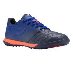 兒童款硬地足球鞋Agility 540 HG-黑色/藍色