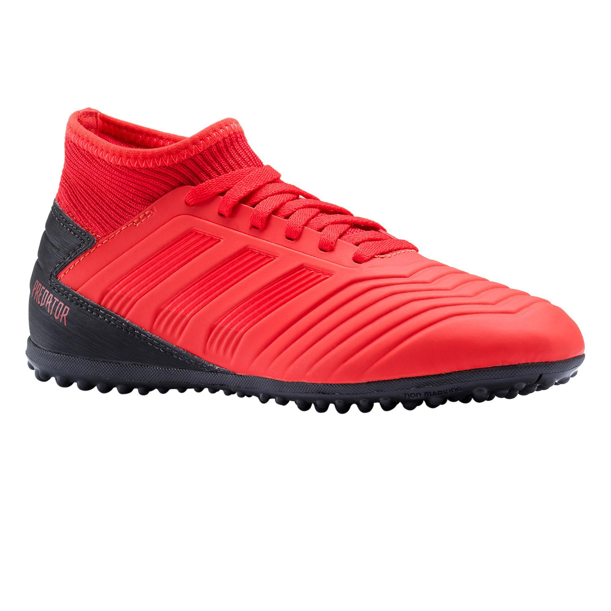 Adidas Voetbalschoenen kind Predator 19.3 TF rood