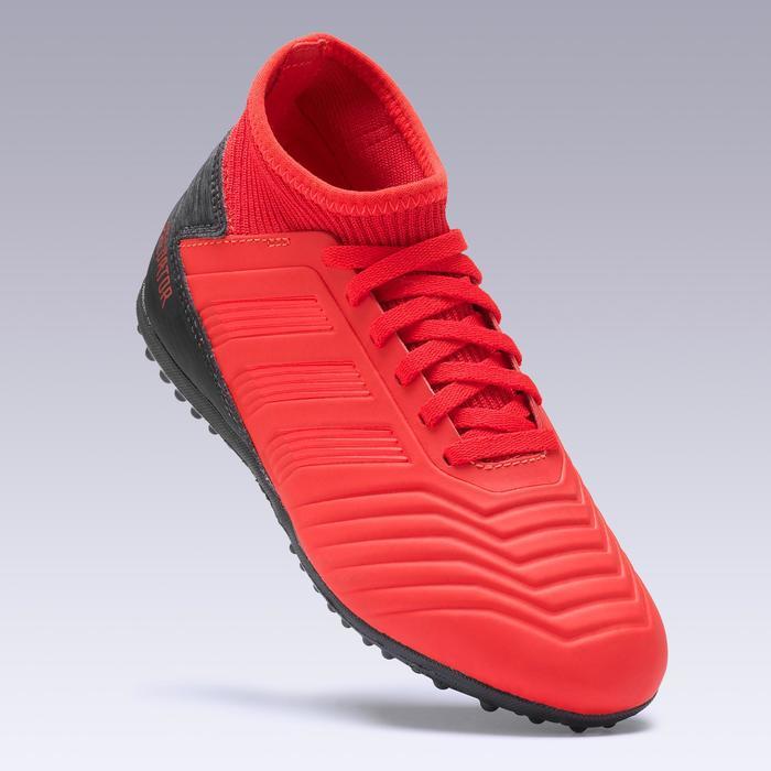 Voetbalschoenen kinderen Predator 18.3 HG rood