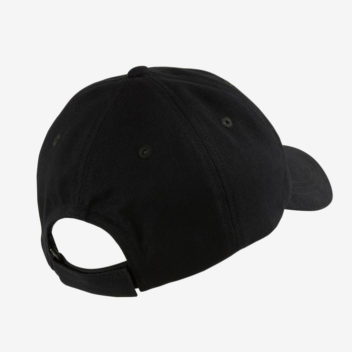 Cap W500 Gym Kinder Print schwarz