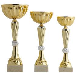 Set 3 Pokale 24-26-29 cm