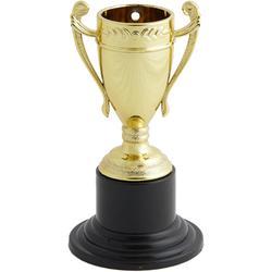 Set 10 Mini-Pokale gold 10cm