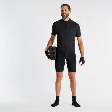 Cuissard de vélo de route à bretelles RC 100– Hommes