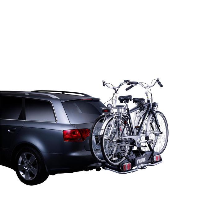 Portabicis bola de remolque Europower 915 13 polos para 2 bicicletas eléctricas