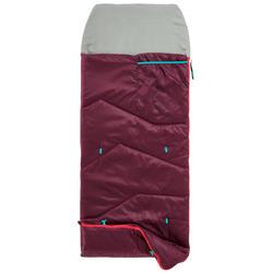 Schlafsack Kinder MH100 10°C violett