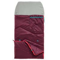 Sac de couchage MH100 10°C - prune- Enfants