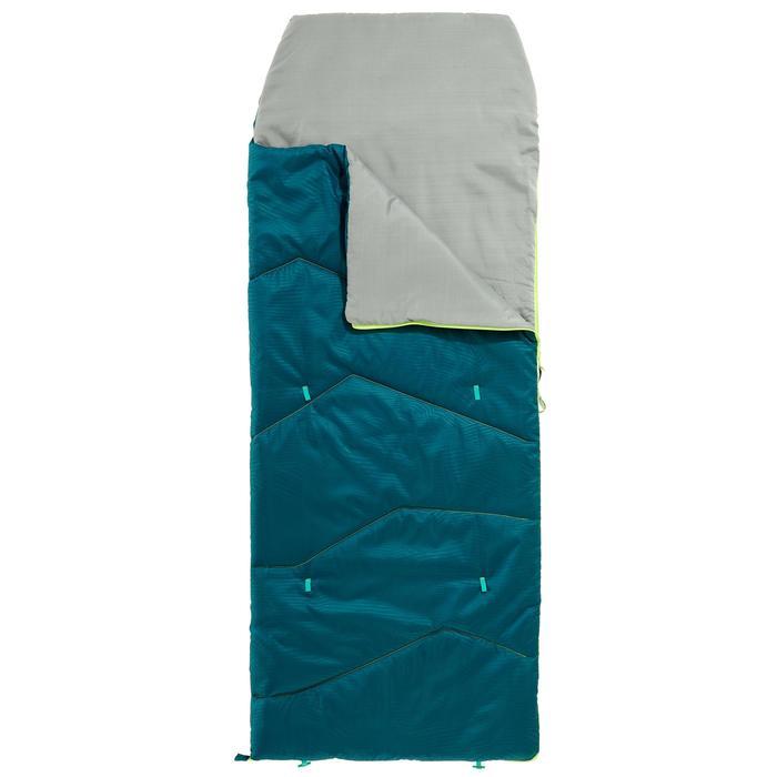 KIDS SLEEPING BAG MH100 10°C - BLUE