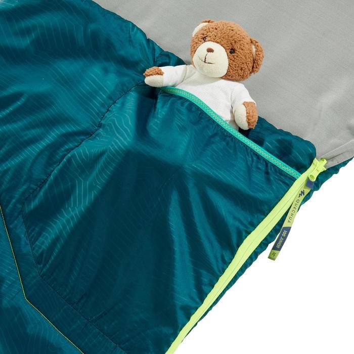 Schlafsack Kinder MH100 10 °C blau