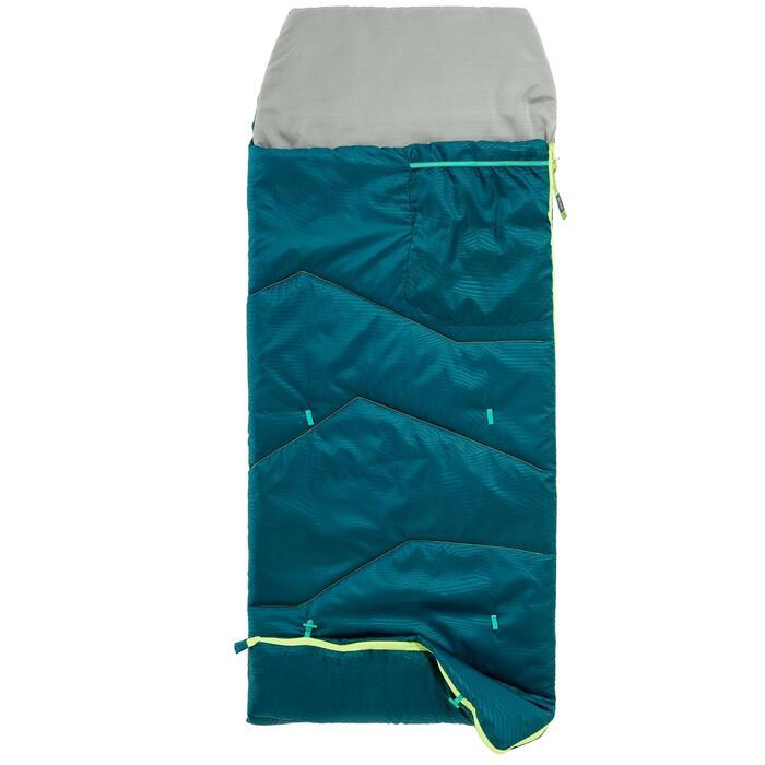 Saco de dormir Camping Quechua MH100 10º Niños Azul