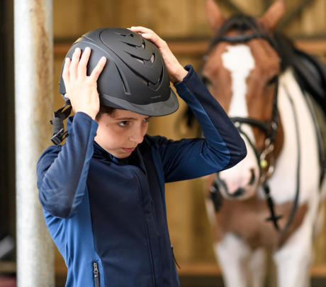 casque équitation