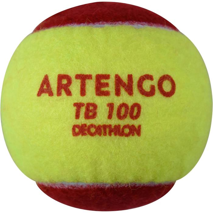 Tennisballen TB100 3 stuks rood