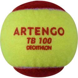 TB100 Tennis Balls Tri-Pack - Red