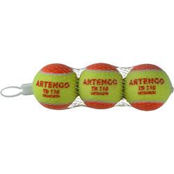 Tennis Ball Tri-Pack TB110 - Orange