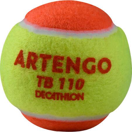 """Teniso kamuoliukai """"TB110"""", 3 vienetai, oranžiniai"""