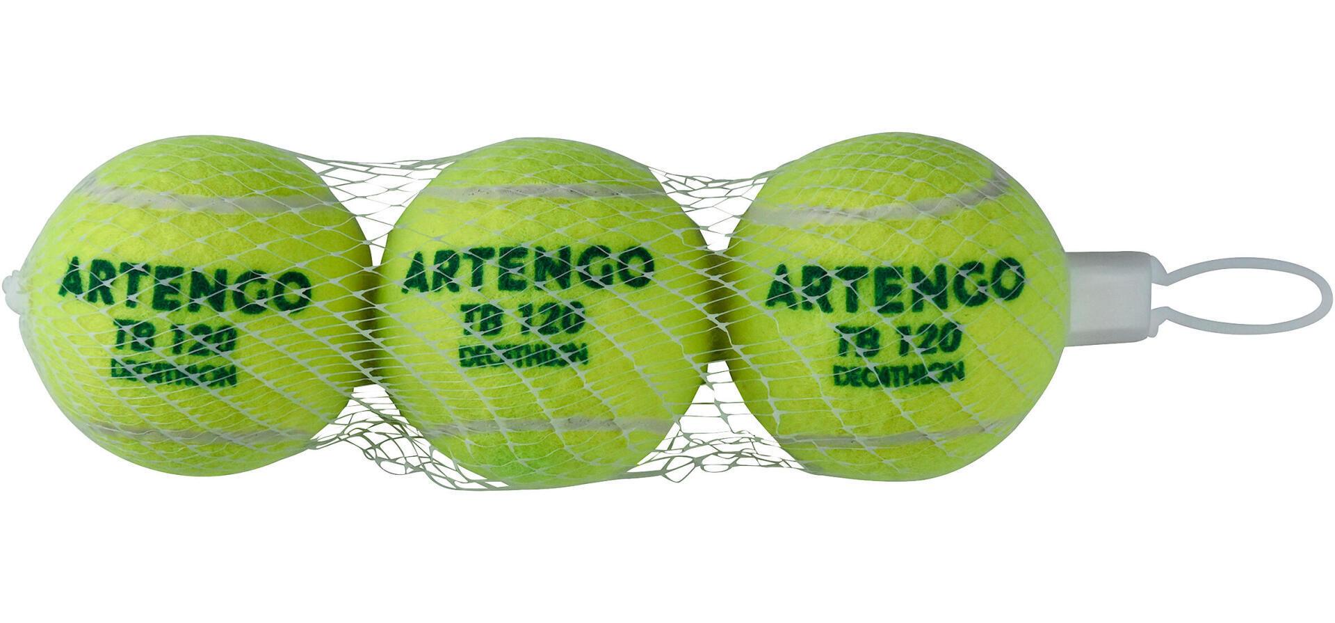 tb120 green pressureless tennis ball