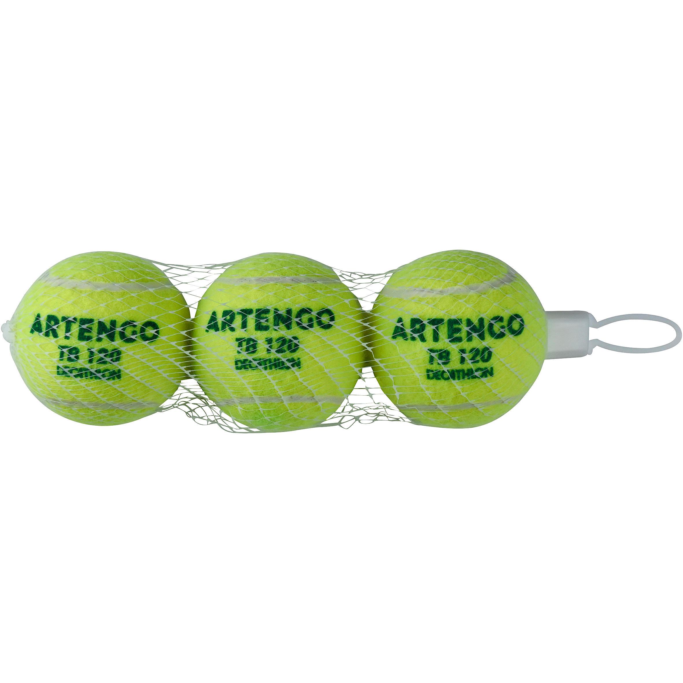 Set 3 Mingi de tenis TB120 la Reducere poza