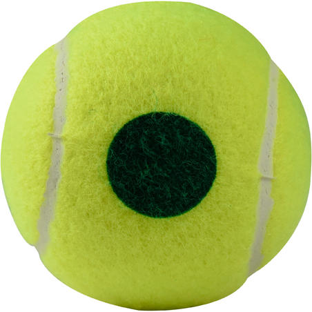 Tennis Ball TB120 x 3 - Green Dot