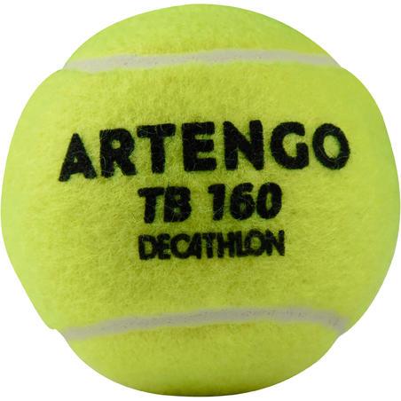 BALLE DE TENNIS TB160 *3 JAUNE