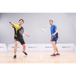 Badmintonschläger BR190 Set Partner Erwachsene dunkelorange