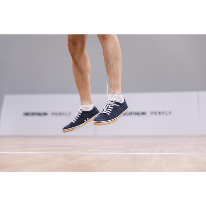 MAN BADMINTON SHOES BS 100 BLUE