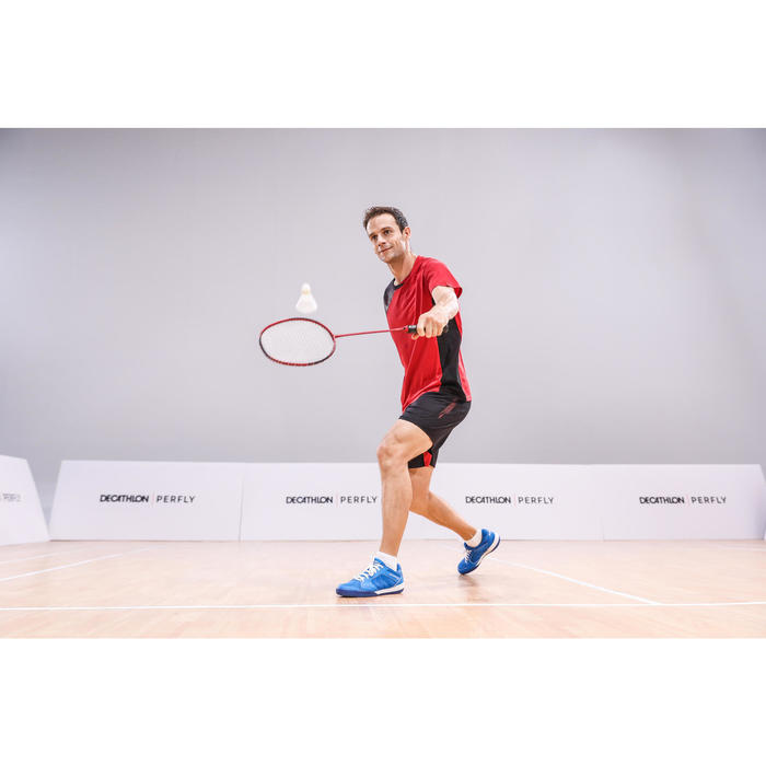 Raquette De Badminton Adulte BR 160 - Rouge Foncé