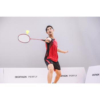 Badmintonracket BR160 voor volwassenen donkerrood