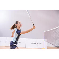 Badmintonracket voor volwassenen BR 190 zilver/blauw