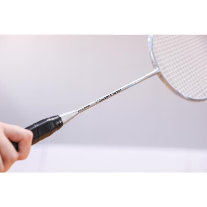 Badmintonschläger BR 190 Erwachsene silberblau