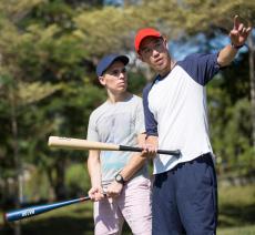 BA100 Baseball Game