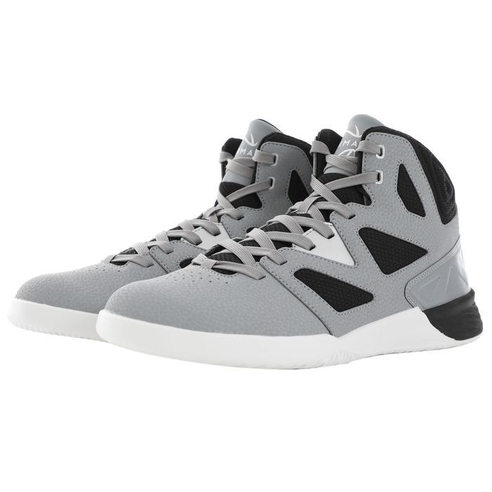 Basketballschuhe Shield 300 Erwachsene grau/schwarz