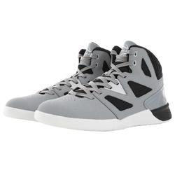Adult Beginner Basketball Shoes - Grey/Black