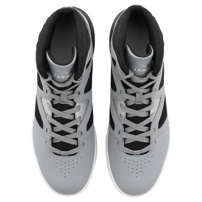 初階籃球鞋Shield 300-白灰黑配色
