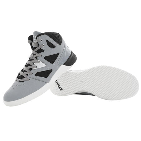 Shield 300 Beginner Basketball Shoes Grey/Black