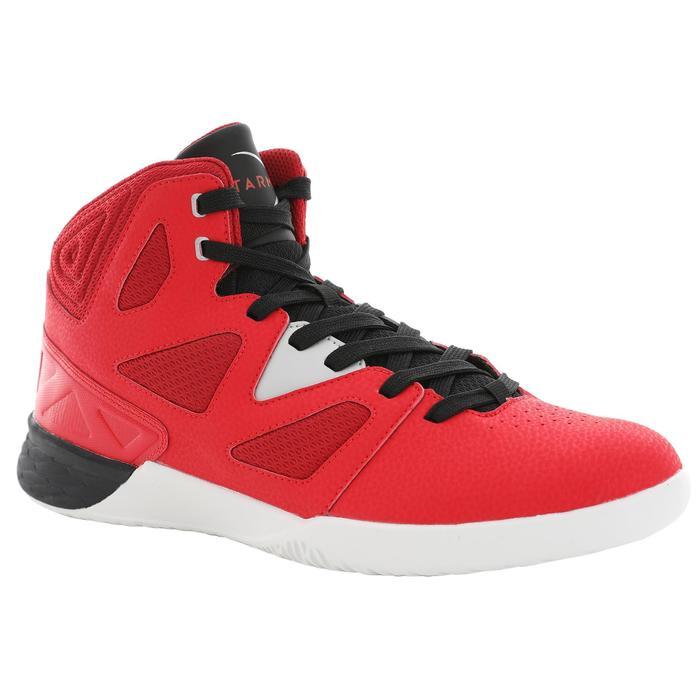 Beginner Basketball Shoes Shield 300 - Red/Black