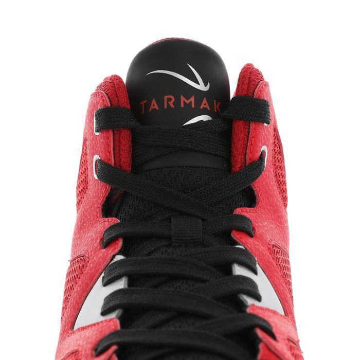 初學者籃球鞋Shield 300-紅黑配色