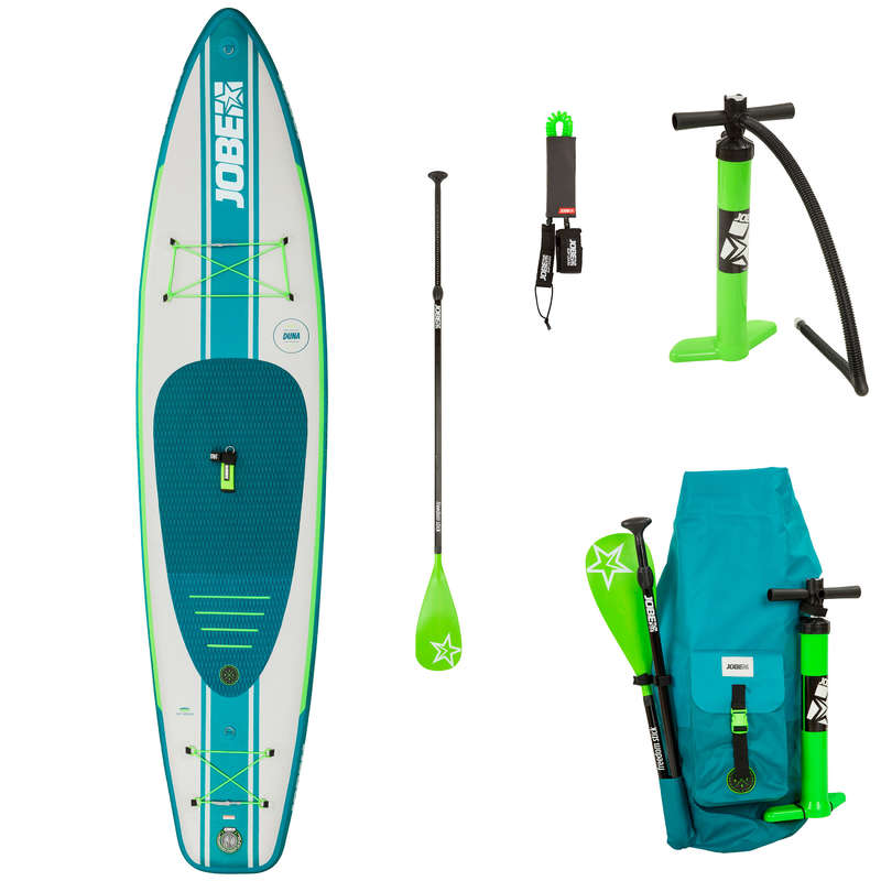 TOURING INFLATABLE SUP Stand Up Paddle - SUP AERO DUNA 11'6 PACK V19 JOBE - SUP Boards